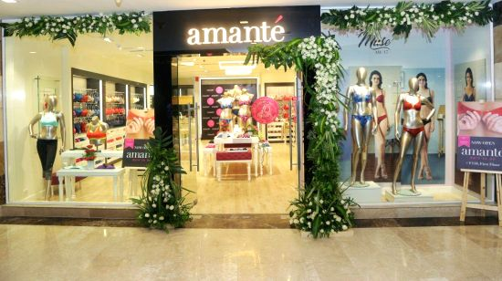 amante 10th store  launched today at Ambience Mall, Gurugram.