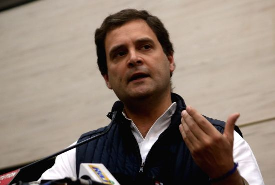 Congress president Rahul Gandhi.(Photo:IANS)