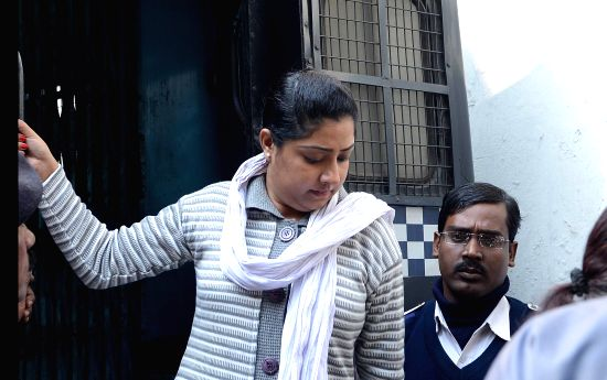 Debjani Mukherjee, Close aide of Saradha scam kingpin Sudipta Sen. (File Photo: IANS)(Image Source: IANS News)