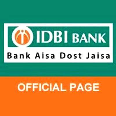 IDBI Bank. (Photo: Twitter/@IDBI_Bank)(Image Source: IANS News)