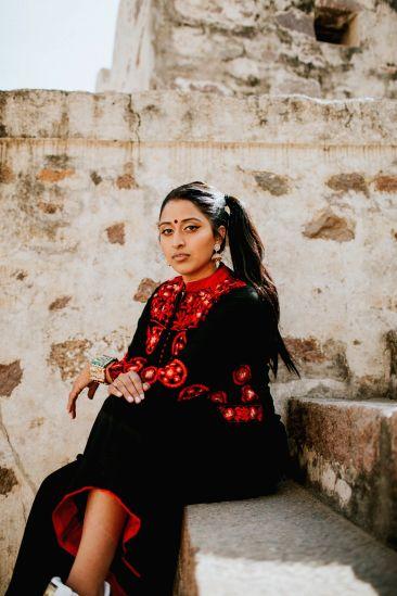 Indian-American songwriter Raja Kumari
