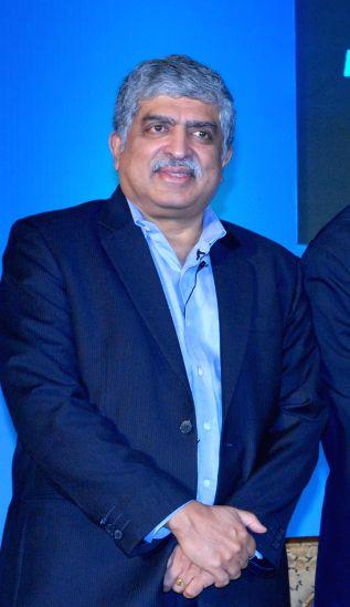 Infosys co-founder and founder chairman of UIDAI Nandan Nilekani. (File Photo: IANS)