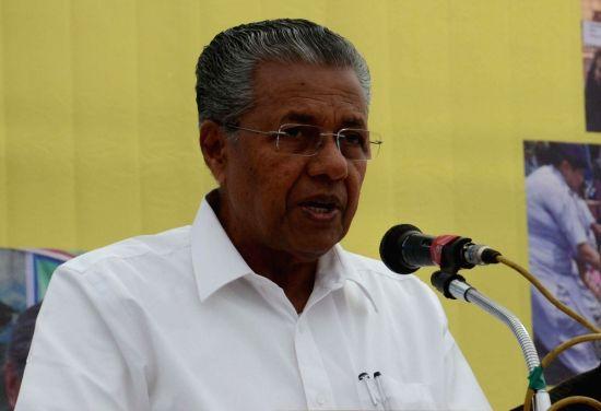 Kerala Chief Minister Pinarayi Vijayan. (Image Source: IANS)