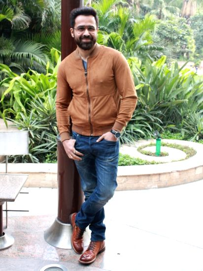"New Delhi: Actor Emraan Hashmi at a press conference to promote his upcoming film ""Why Cheat India"" in New Delhi, on Jan 11, 2019. (Photo: Amlan Paliwal/IANS)(Image Source: IANS News)"