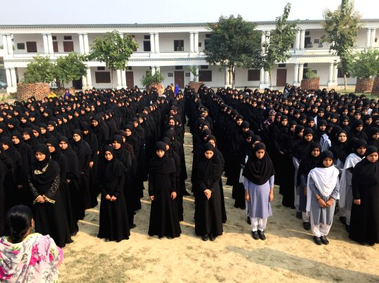 Neyaz Ahmad Daudi opened the Fatima Girls Inter College because there were not enough girls' colleges at nearby villages and towns
