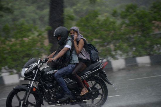 Rains. (Image Source: IANS)