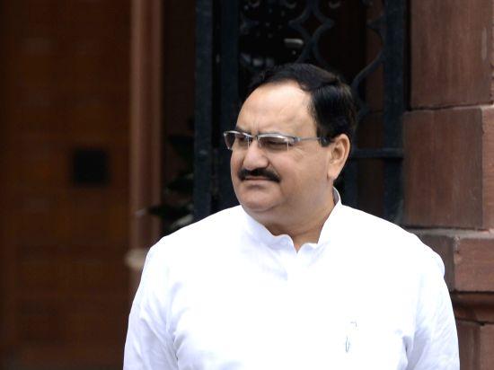 Union Health Minister J P Nadda. (Image Source: IANS)