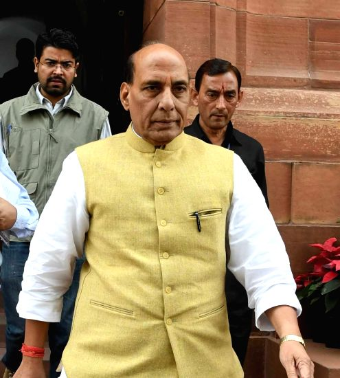 Union Home Minister Rajnath Singh. (Image Source: IANS)