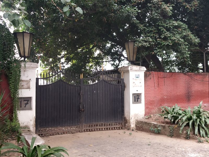 17 Motilal Nehru Marg bungalow of late Prime Minister Jawaharlal Nehru (Photo: IANS)