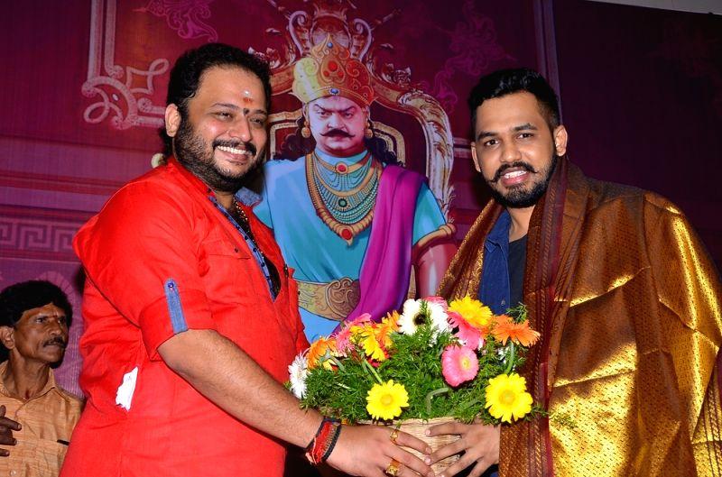Chennai: Thamizhan Endru Soll Movie Pooja Stills