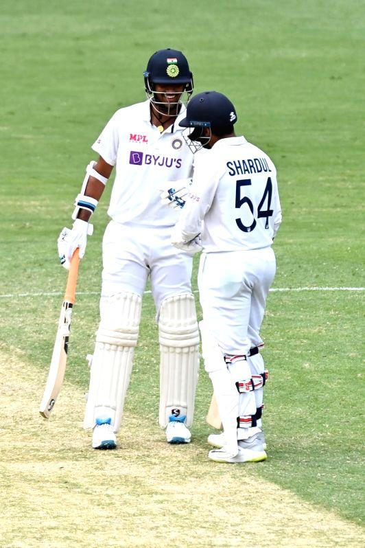 4th Test: Thakur, Sundar help India cut down deficit to 33 (Credit: @BCCI/twitter)