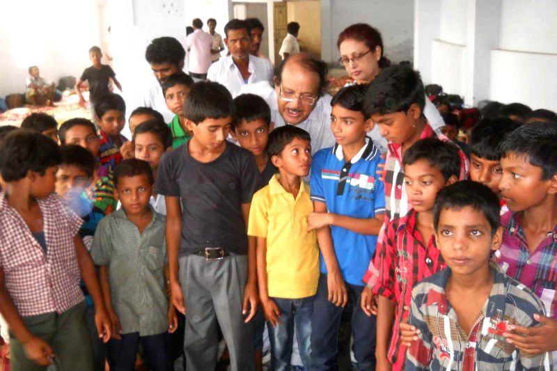 58 children who were rescued from an unauthorized orphanage in Kerala being handed over to their parents at Malda district of West Bengal on June 17, 2014.