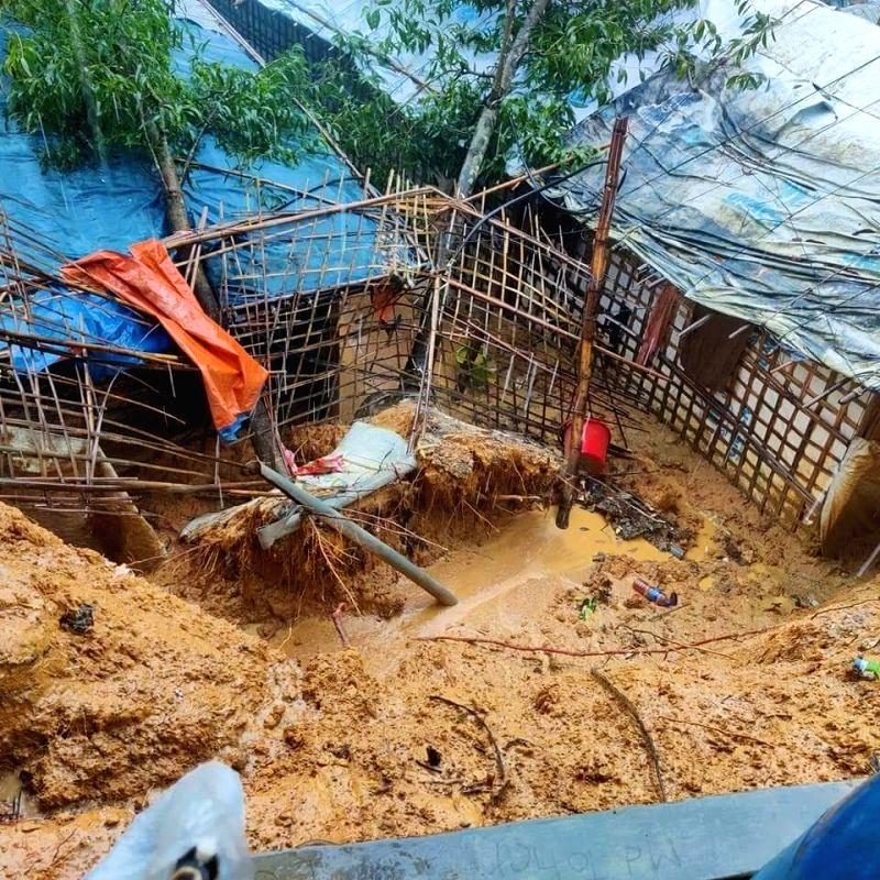 6 Rohingya refugees killed in flood, landslides in Bangladesh