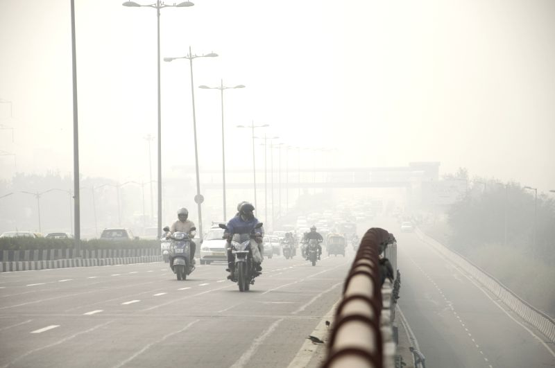 A blanket of smog in New Delhi on Oct.31, 2015.