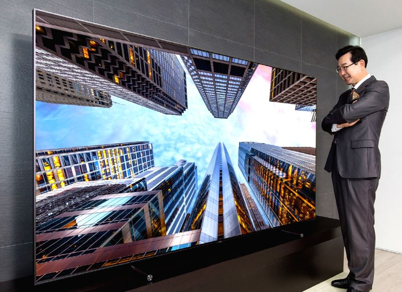Samsung's ginormous 4K resolution 88-inch Q9 TV costs $20,0000