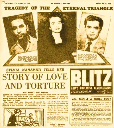 """A contemporary account by weekly \""""The Blitz\"""" on the Nanavti case"""