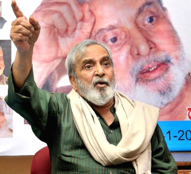 (A file Photo) Jnanpith award winning litterateur UR Ananthamurthy who breathed his last at a Bangalore hospital on Aug 22, 2014. Ananthamurthy, 81, was suffering from renal failure.