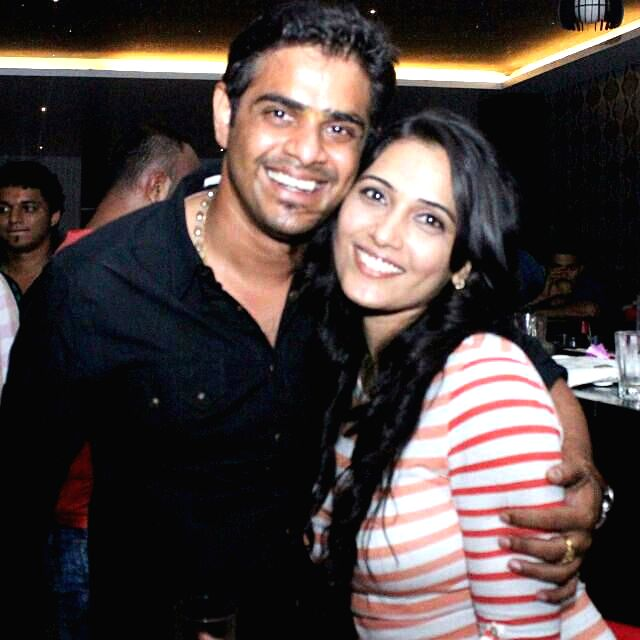 (A file photo) of Actress Mytriya Gowda with Karthik Gowda, Mytriya Gowda who filed complaint of rape and cheating against Karthik Gowda son of Union Minister DV Sadananda Gowda, alleging that he had - Mytriya Gowda