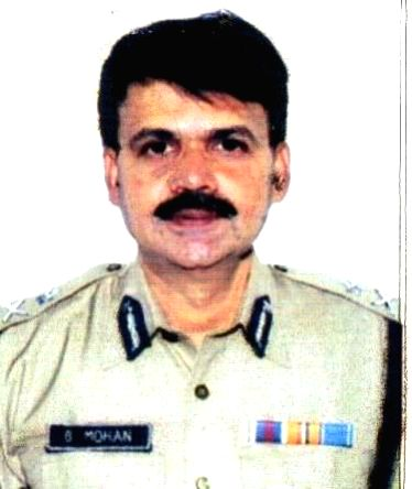 (A File Photo) President's Police Medal award winner Bhupathi Mohan, IG-cum-CSC, Southern Railway; New Delhi on Aug 14, 2014.