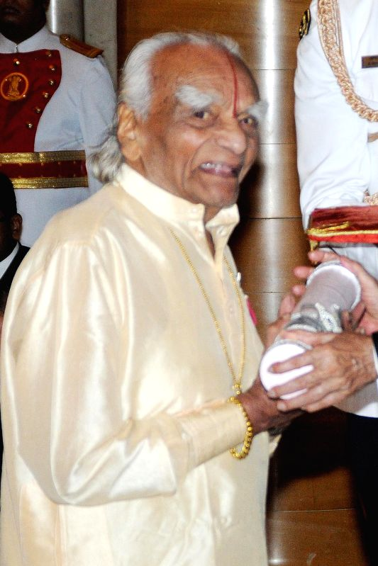 (A File Photo) Yoga guru B.K.S. Iyengar, who founded the 'Iyengar Yoga', breathed his last around 3.15 a.m at a Pune hospital after a brief battle with age-related ailments.Author of several books on