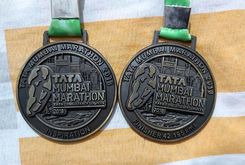 A former marine commando's Mumbai marathon medal will find pride of place in a city school to inspire students, following the school's founder purchasing the medal to fund the commando's COVID-19 donation.