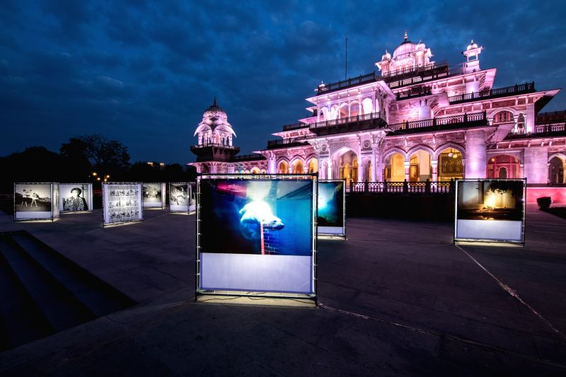 "A glimpse of the pink city during ""Jaipur Photo"", an international photography festival.  (File Photo: IANS)"