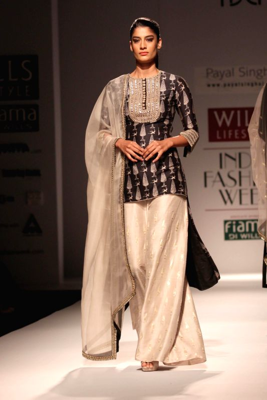Wills Lifestyle India Fashion Week Summer Spring 2015 Payal Singhal