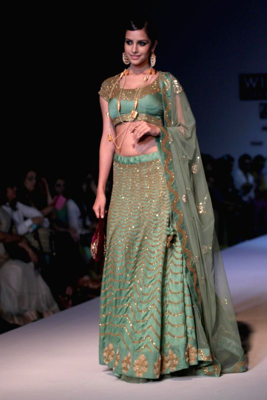 Wills Lifestyle India Fashion Week Summer Spring 2015 Joy Mitra
