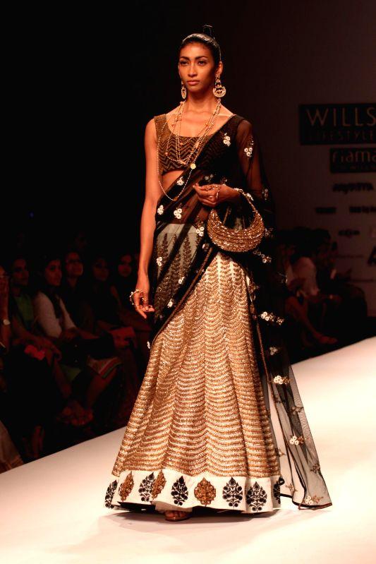 Wills Lifestyle India Fashion Week Summer Spring 2015 Joy Mitra