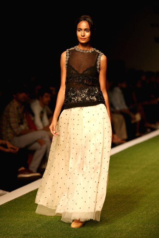 Amazon India Fashion Week Designer Dev R Nil Show