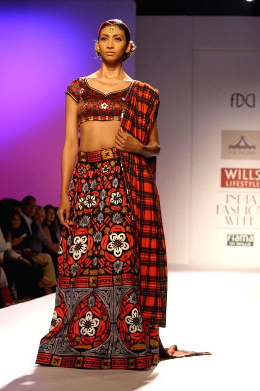 Wills Lifestyle India Fashion Week Autumn Winter 39 14 Pia