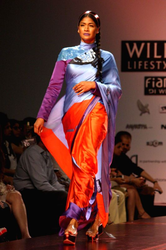 wills lifestyle india fashion week autumn winter 39 14 satya paul