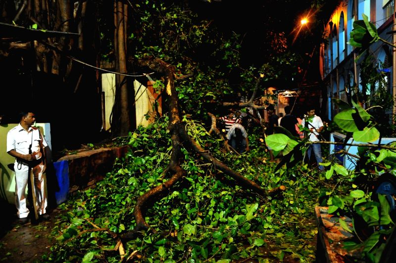 Kolkata: At least 15 killed as seasonal storm, heavy rains hit state