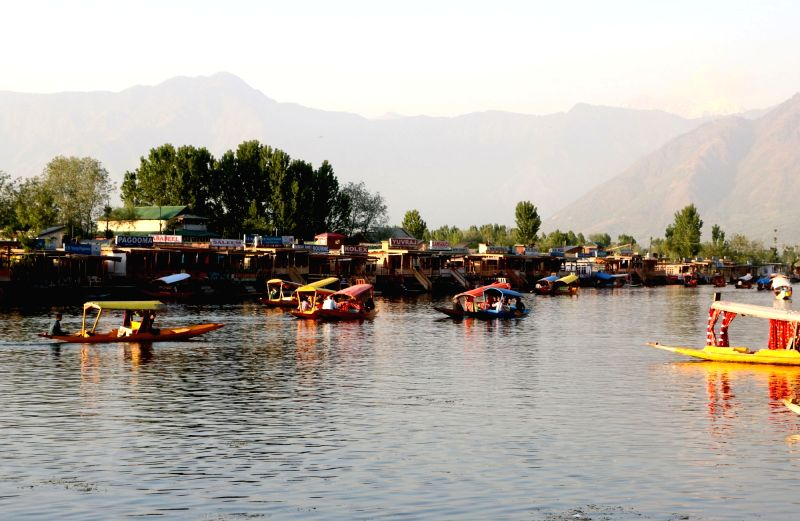 A view of Dal Lake in Srinagar, on May 7, 2016.