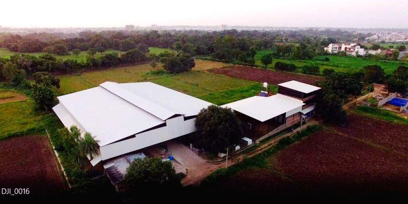 A view of GAU farm in Kota, Rajasthan