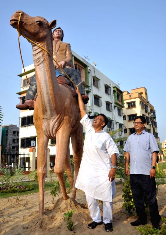 "A view of newly inaugurated ""Sonar Kella Udyan"" a Satyajit Ray themed park by West Bengal Urban Development Minister Firhad Hakim at New Town in Kolkata, on May 6, 2017. - Firhad Hakim"