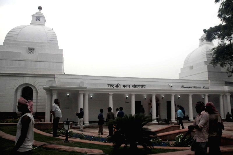 A view of Phase-II of the Rashtrapati Bhavan Museum during the press preview in New Delhi on July 24, 2016. The museum will be inaugurated by Prime Minister Narendra Modi in the presence ... - Narendra Modi and Pranab Mukherjee