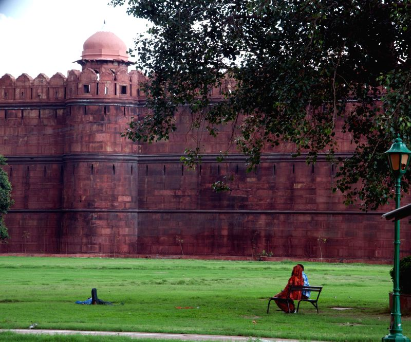 A view of Red Fort in New Delhi on Sept 2, 2014.