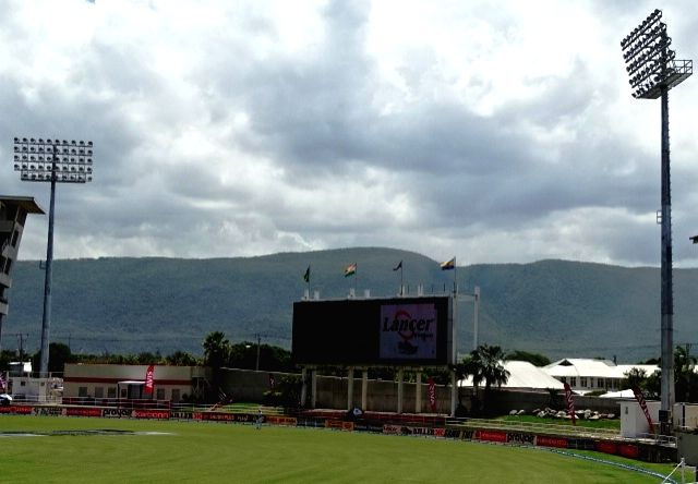 A view of Sabina Park at Kingston, Jamaica, on Aug 1, 2016.