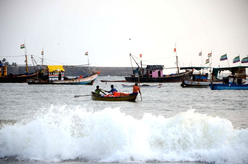 A view of sea beach at Malvan in Sindhudurg district of Maharashtra on May 27, 2017.