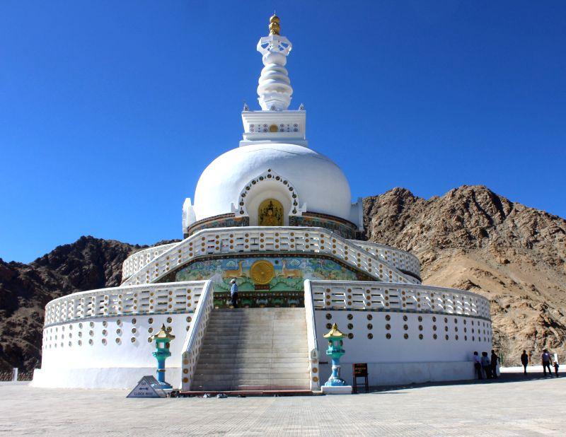 10. Shanti Stupa