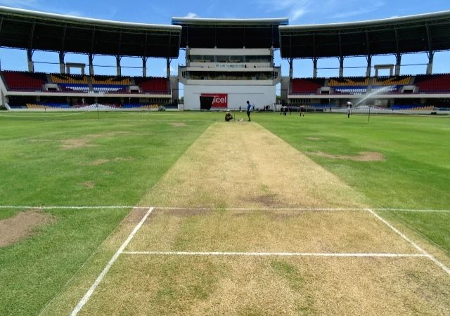 A view of Sir Vivian Richards Stadium in Antigua.