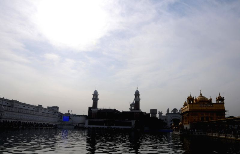 A view of the Golden Temple, in Amritsar on April 14, 2018.