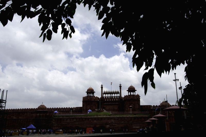 A view of the Red Fort in New Delhi, on July 26, 2015.