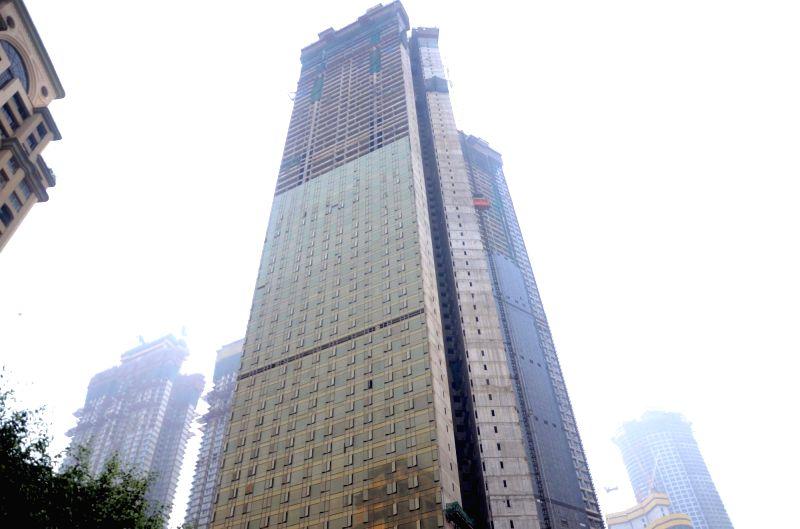 Donald Trump Junior Announces Topping Out Of Mumbai S
