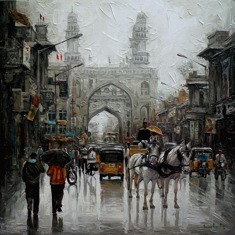 A work by Iruvan Karunakaran at the show