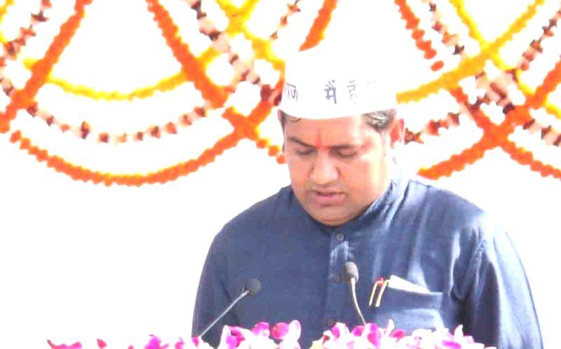 AAP leader Sandeep Kumar. (File Photo: IANS)