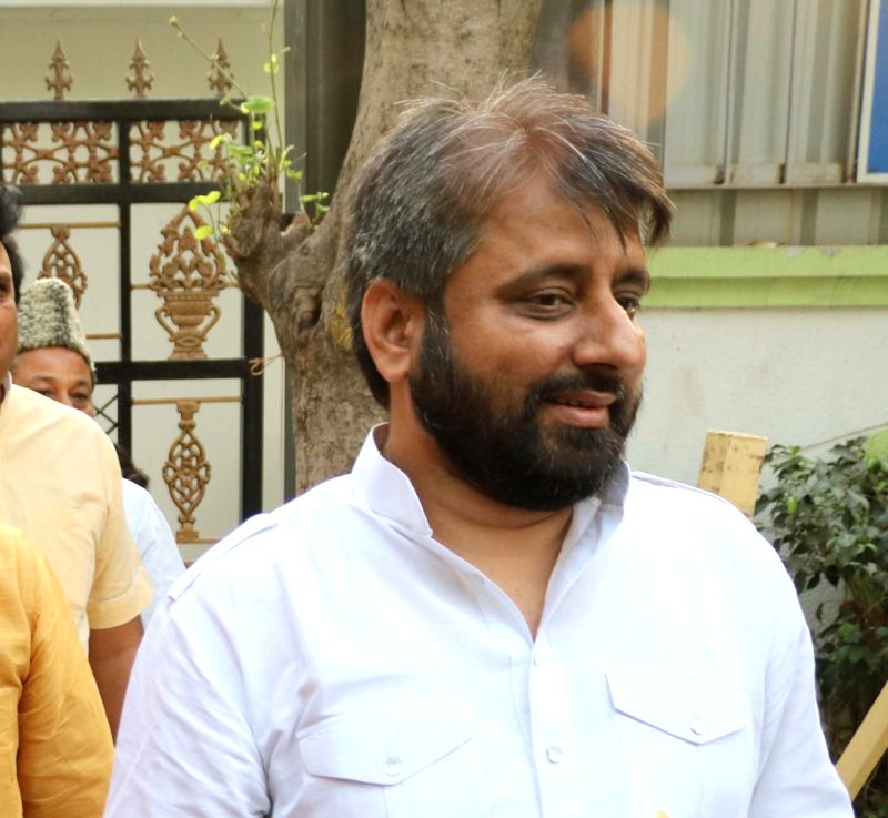 AAP MLA Amanatullah Khan. (File Photo: IANS) - Amanatullah Khan