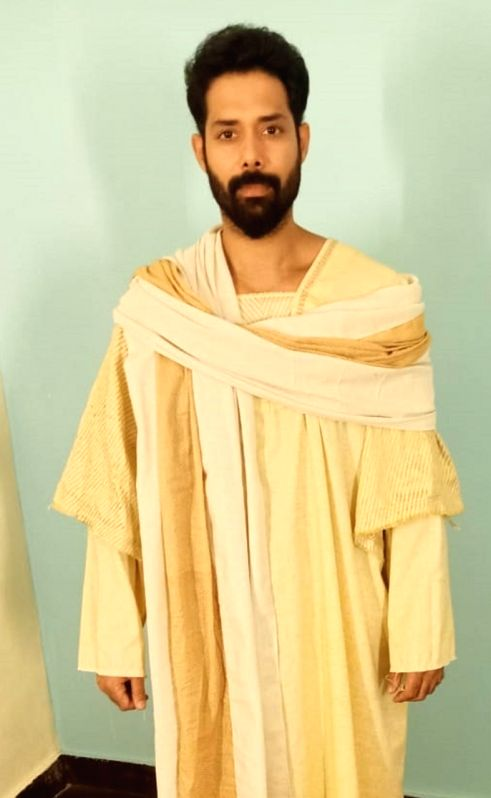 Aarya Dharmchand on preparation for show on Jesus Christ's life.