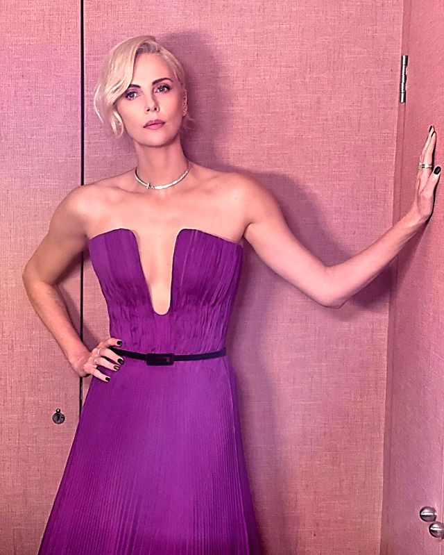 Academy Award winning actress Charlize Theron opened up about men and past relationships in a show hosted by Hollywood star Drew Barrymore. Theron says she thinks back how she made herself smaller for a guy or in a relationship. (Instagram)